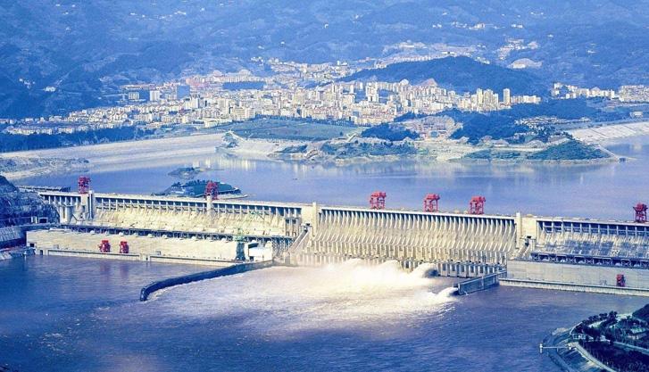 泰隆减速机应用于三峡大坝工程项目...