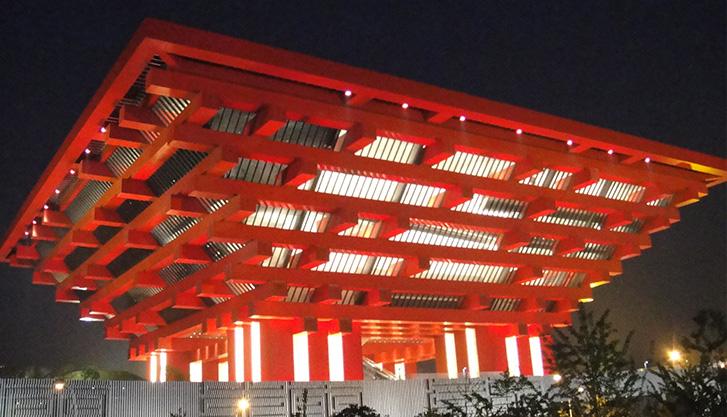 江苏泰隆产品成功运用于上海世博会...